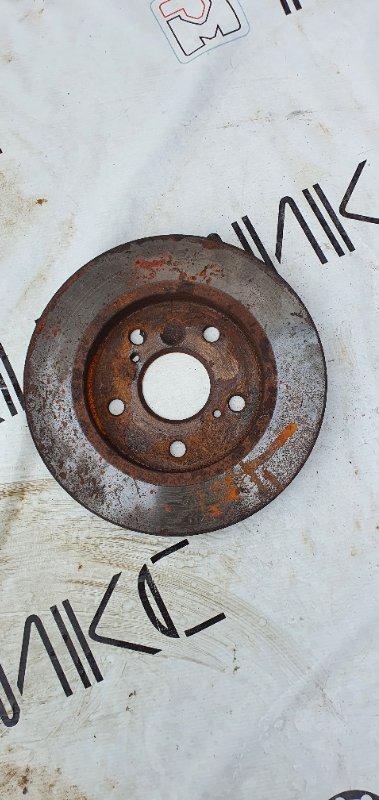 Тормозной диск Toyota Auris ZRE152 2ZR-FE задний левый (б/у)