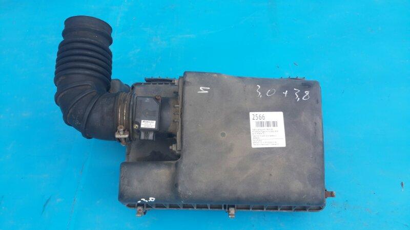Корпус воздушного фильтра Mitsubishi Pajero 4 3.8 2006 (б/у)
