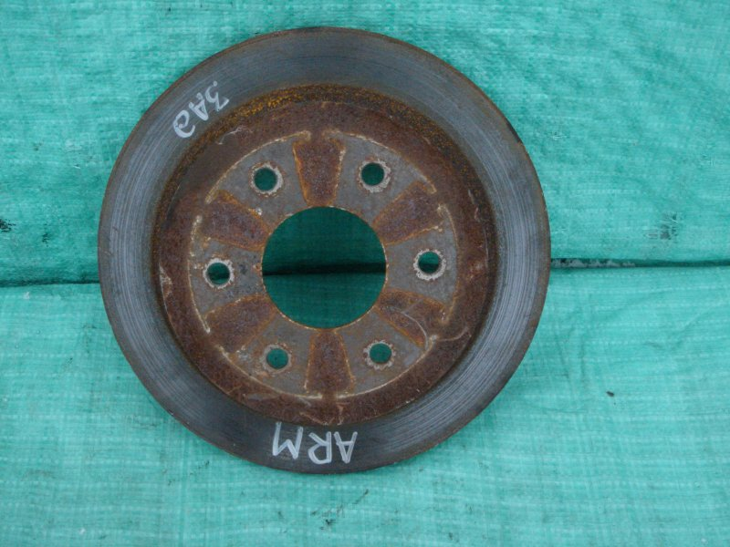 Тормозной диск Nissan Armada 2004 задний (б/у)