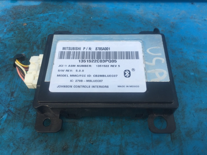 Блок управления громкой связью Mitsubishi Asx 2007 (б/у)