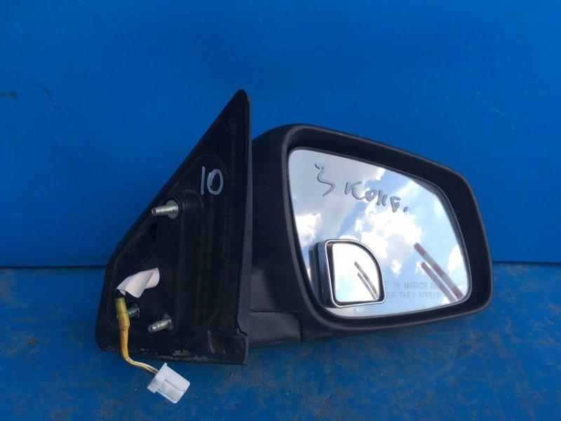 Зеркало Mitsubishi Lancer 10 2007 переднее правое (б/у)