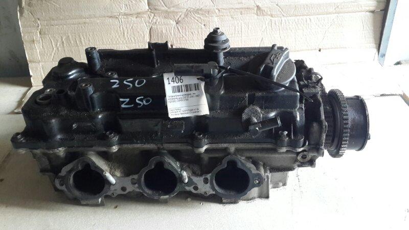 Головка блока цилиндров Nissan Murano Z50 3.5 2002 левая (б/у)