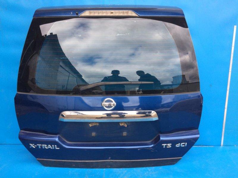 Крышка багажника Nissan Xtrail T31 2007 задняя (б/у)