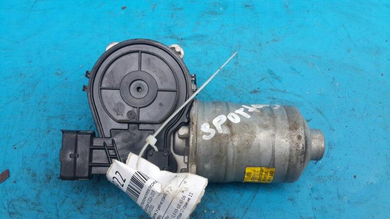 Мотор стеклоочистителя Kia Sportage 4 2016 передний (б/у)