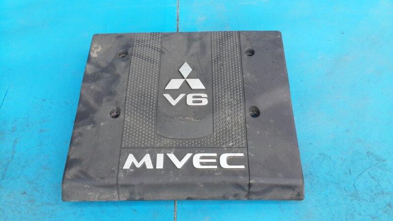 Крышка двигателя Mitsubishi Pajero 4 3.8 2006 (б/у)