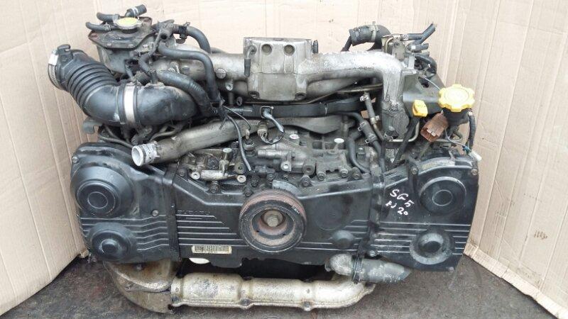 Двигатель Subaru Forester 2.0 2002 (б/у)