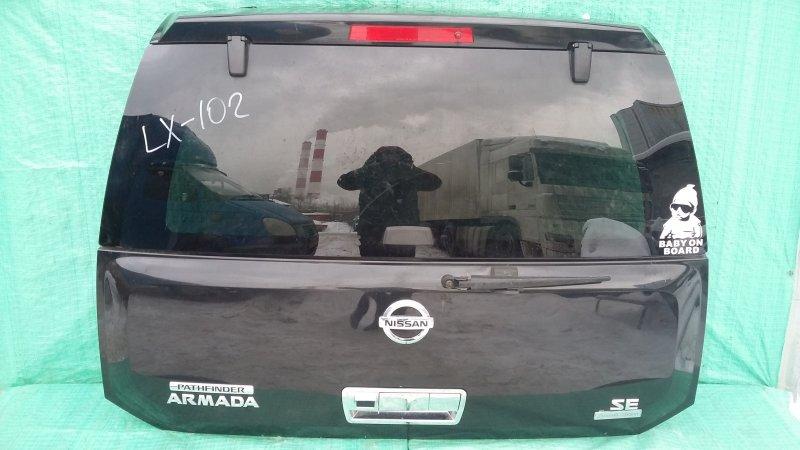 Крышка багажника Nissan Armada 2004 (б/у)