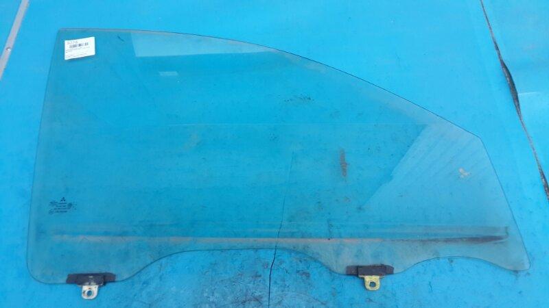 Стекло двери Mitsubishi Pajero Sport 1 1998 переднее правое (б/у)