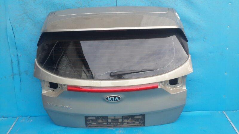 Крышка багажника Kia Sportage 4 2016 задняя (б/у)