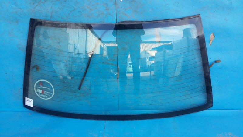 Стекло Mitsubishi Lancer 9 2003 заднее (б/у)