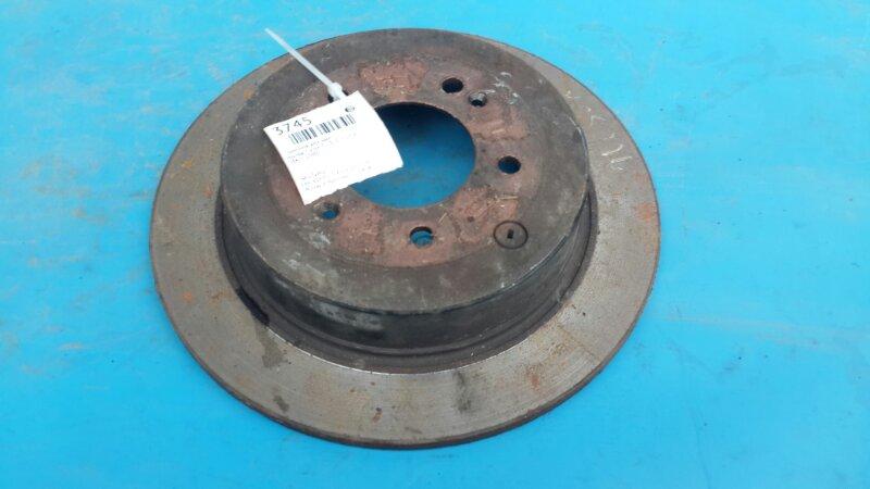 Тормозной диск Hyundai Tucson 3 2015 задний (б/у)