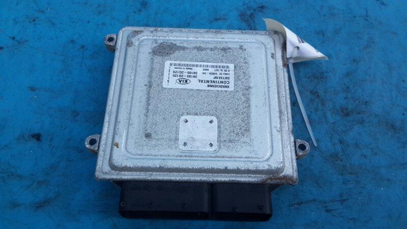 Блок управления двигателем Kia Sorento 2 2.4 2009 (б/у)