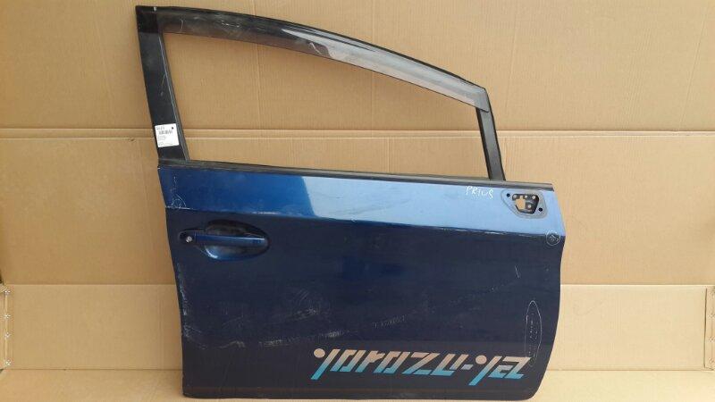 Дверь Toyota Prius 2009 передняя правая (б/у)