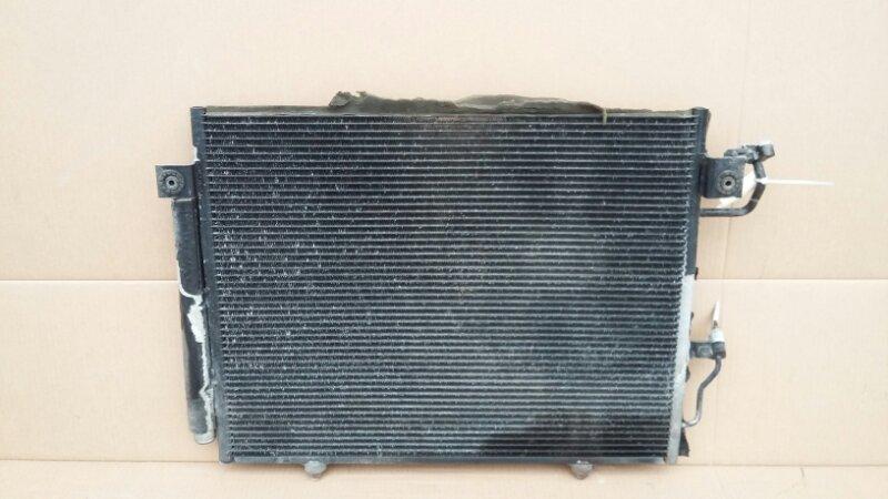 Радиатор кондиционера Mitsubishi Pajero 4 3.2 2006 (б/у)