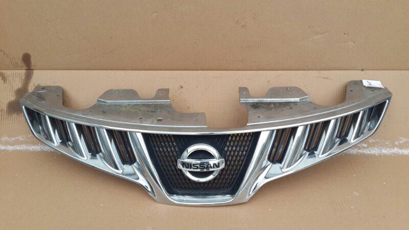 Решетка радиатора Nissan Murano Z51 2008 (б/у)
