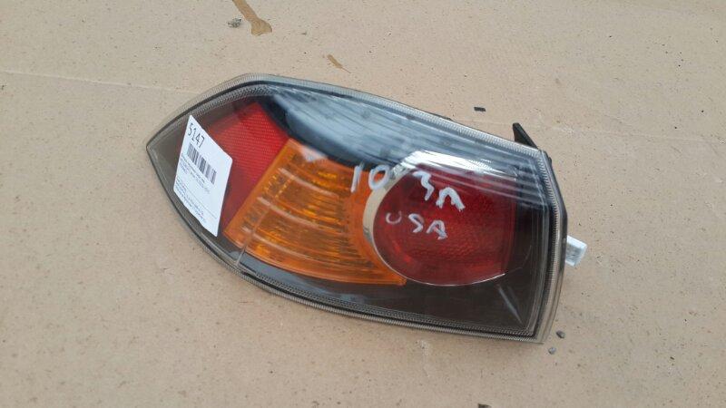 Фонарь наружный Mitsubishi Lancer 10 2010 задний левый (б/у)