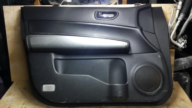 Обшивка двери Nissan Xtrail T31 2007 передняя левая (б/у)