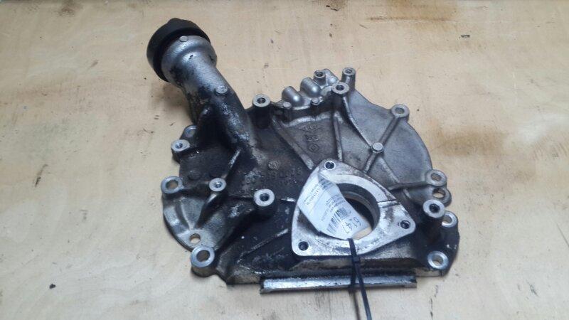 Крышка двигателя Nissan Pathfinder 3.0 2010 левая (б/у)