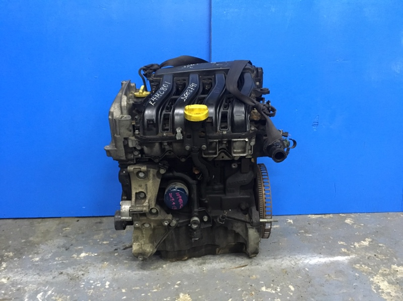 Двигатель Renault Clio 3 1.6 2005 (б/у)