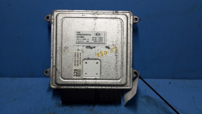 Блок управления двигателем Kia Soul 2008 (б/у)