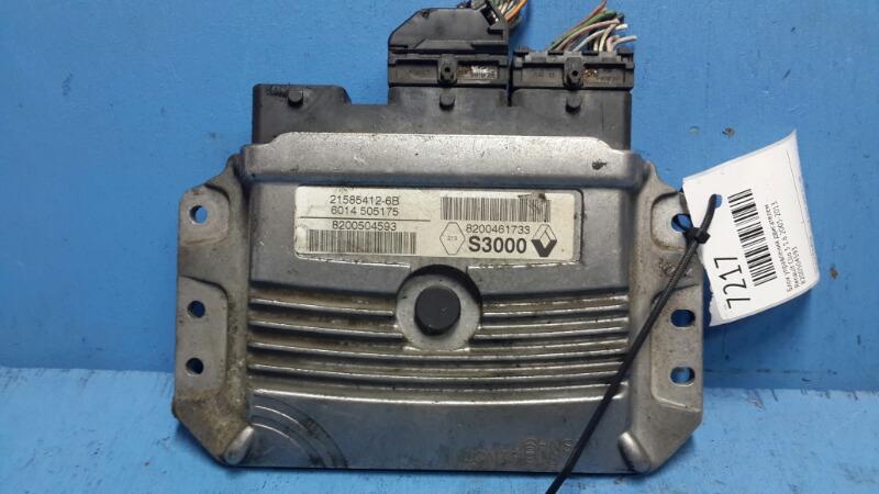Блок управления двигателем Renault Clio 3 1.6 2005 (б/у)
