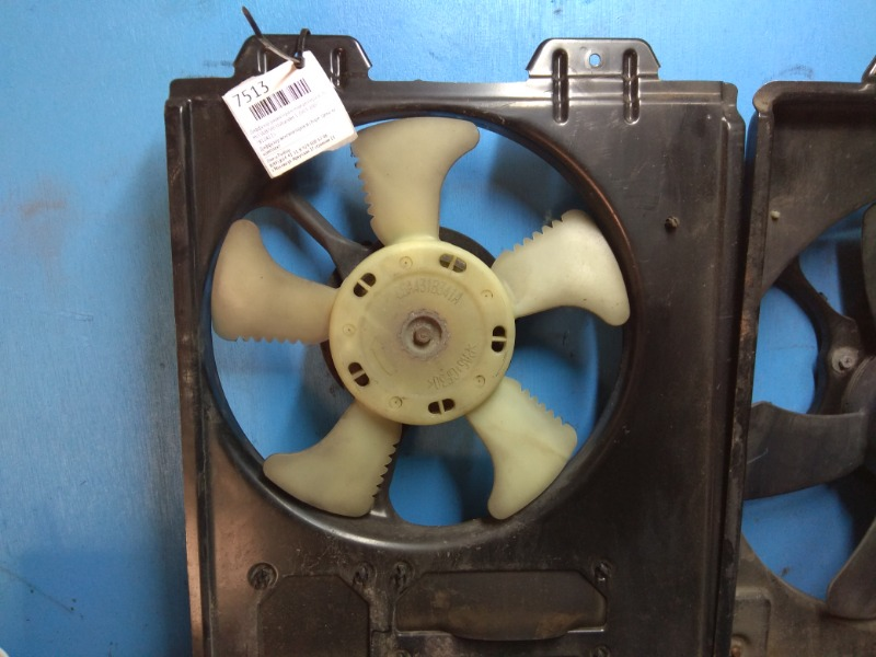 Диффузор радиатора кондиционера в сборе Mitsubishi Outlander 1 2003 (б/у)