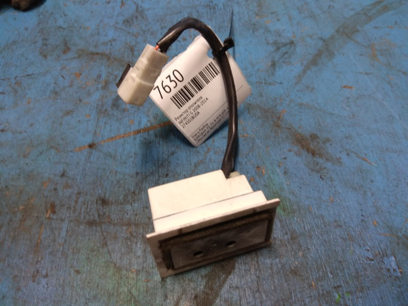 Резистор отопителя Infiniti G 2008 (б/у)