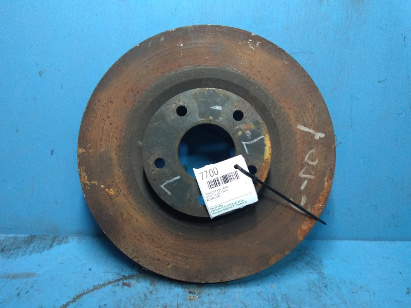 Тормозной диск Infiniti G 2007 передний (б/у)
