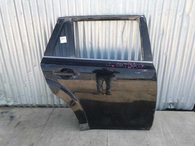 Дверь Subaru Outback B14 2009 задняя правая (б/у)