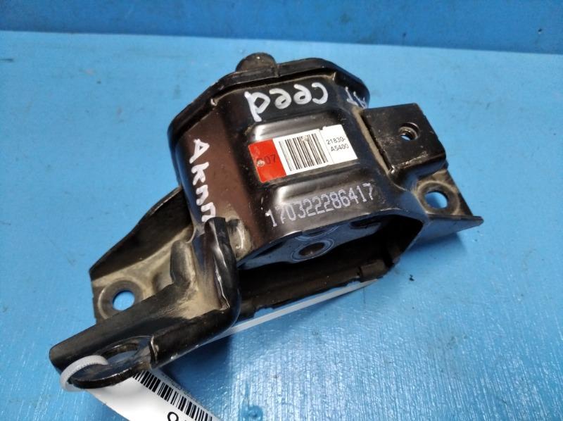 Опора двигателя Kia Ceed 2 1.6 2012 левая (б/у)