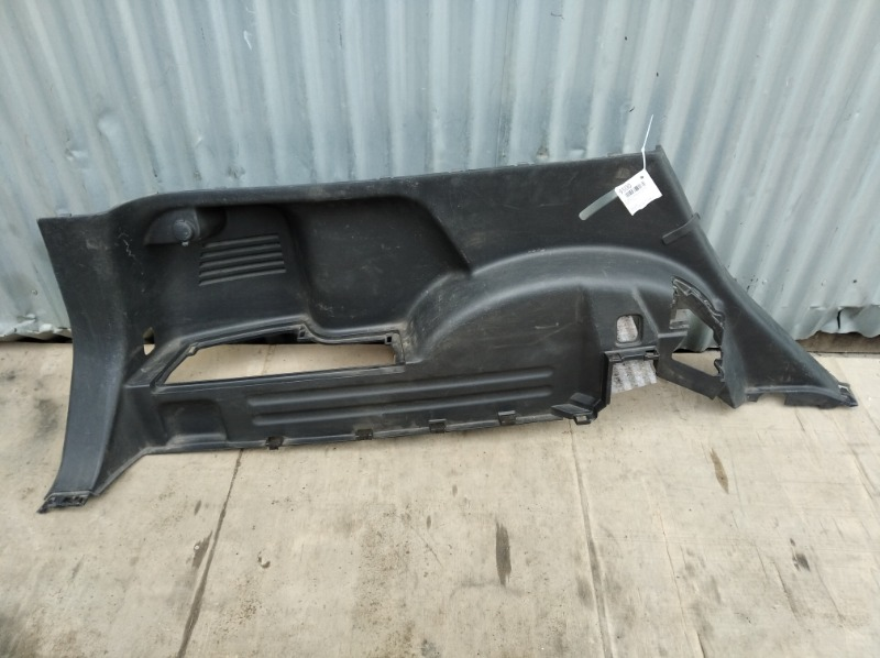 Обшивка багажника Nissan Xtrail T31 2007 задняя левая нижняя (б/у)
