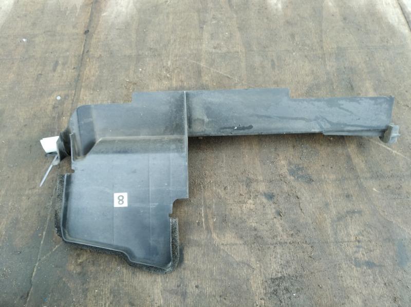 Дефлектор радиатора Nissan Qashqai J10 2010 левый (б/у)