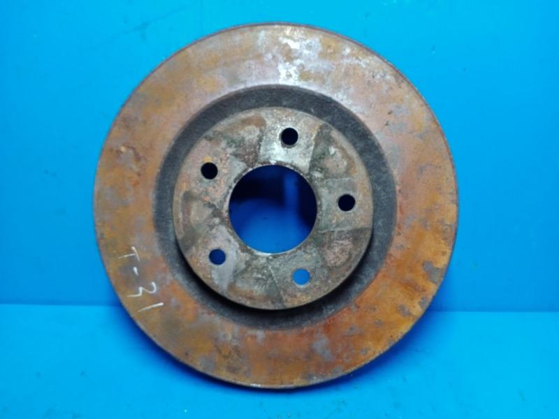 Тормозной диск Nissan Xtrail T31 2007 передний (б/у)