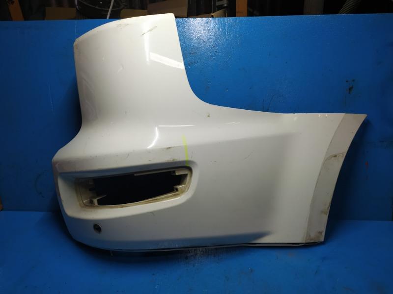 Накладка бампера Mitsubishi Outlander Xl 2006 задняя правая (б/у)