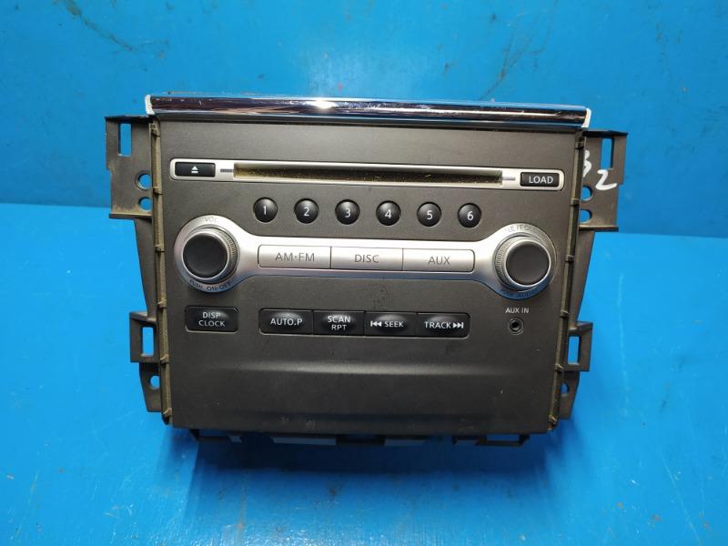 Панель управления магнитолы Nissan Teana J32 2008 (б/у)