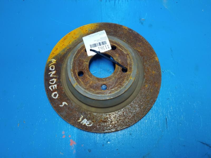 Тормозной диск Ford Mondeo 5 2014 задний (б/у)