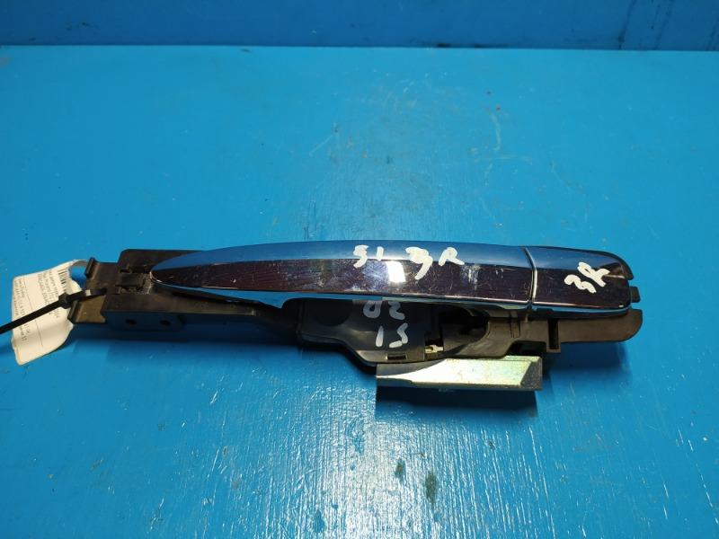 Ручка двери Nissan Murano Z51 2007 передняя (б/у)