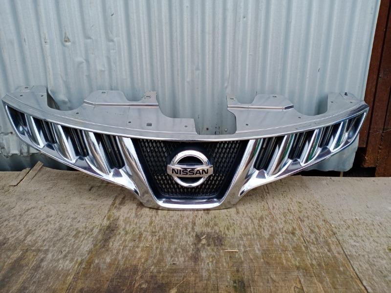 Решетка радиатора Nissan Murano Z51 2007 (б/у)
