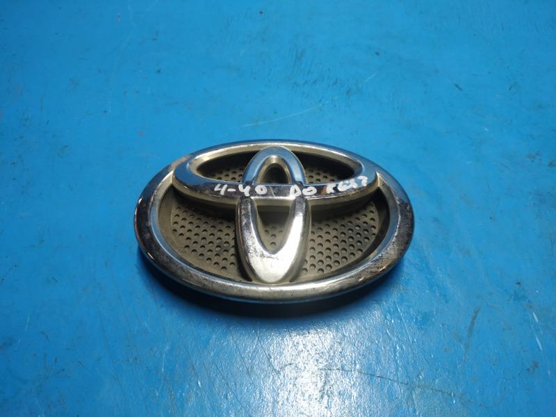 Эмблема решетки радиатора Toyota Rav4 Ca40 2012 (б/у)