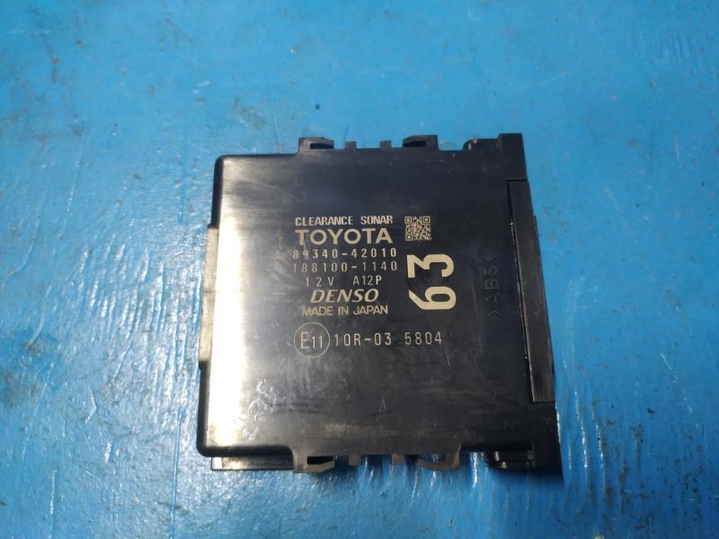 Блок управления парктрониками Toyota Rav4 Ca40 2012 (б/у)