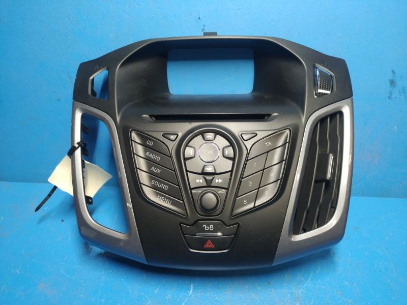 Панель управления магнитолы Ford Focus 3 2011 (б/у)