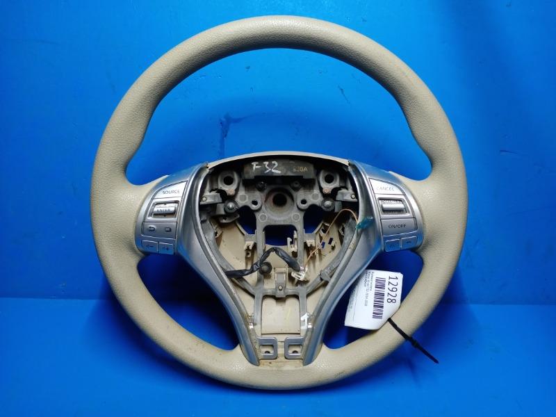 Рулевое колесо Nissan Xtrail T32 2014 (б/у)