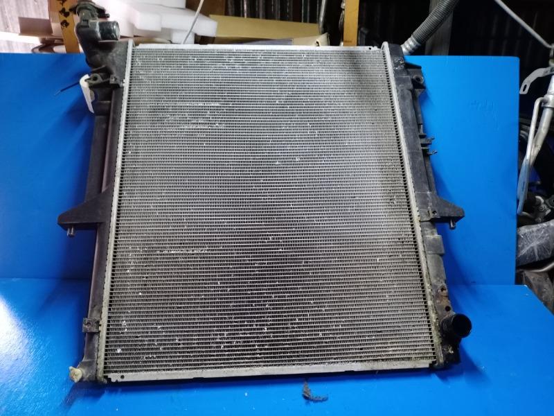 Радиатор охлаждения двигателя Mitsubishi L200 2007 (б/у)