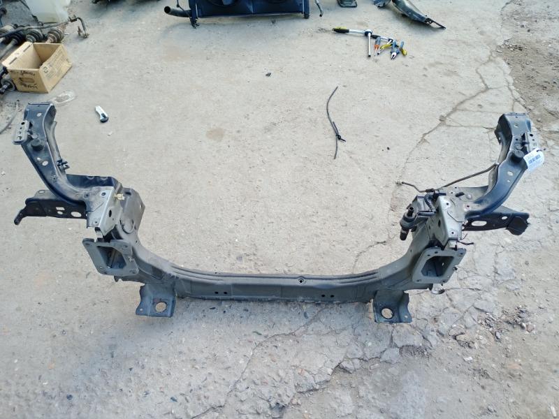 Суппорт радиатора Mitsubishi Lancer 10 2007 нижний (б/у)