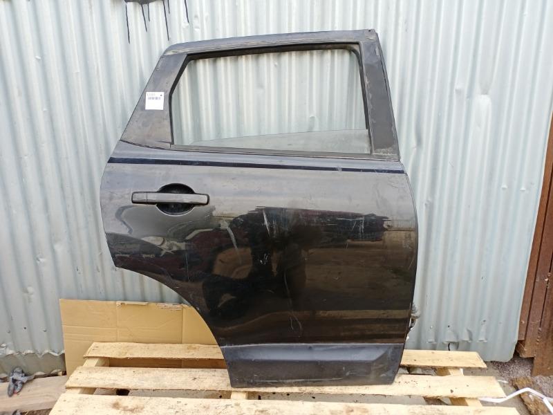 Дверь Nissan Qashqai J10 2006 задняя правая (б/у)