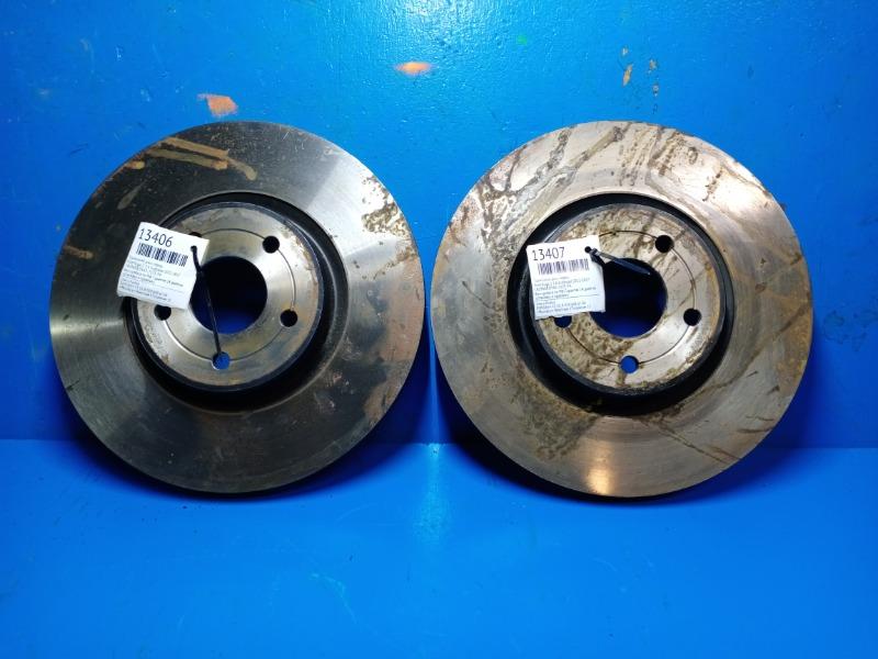 Тормозной диск Ford Kuga 2 1.6 ECOBOOST 2012 передний (б/у)