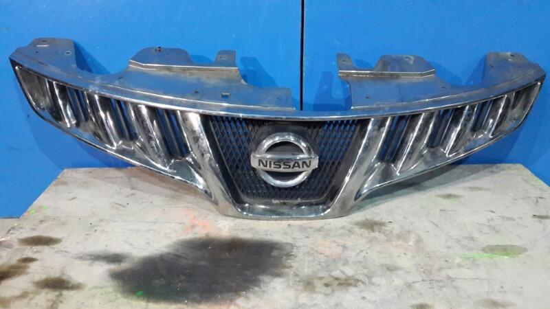 Решетка радиатора Nissan Murano Z51 3.5 2007 передняя (б/у)