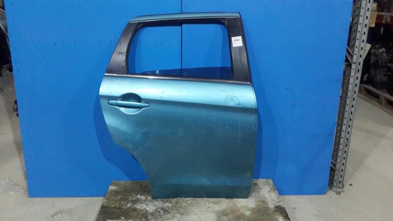 Дверь Mitsubishi Asx 2010 задняя правая (б/у)