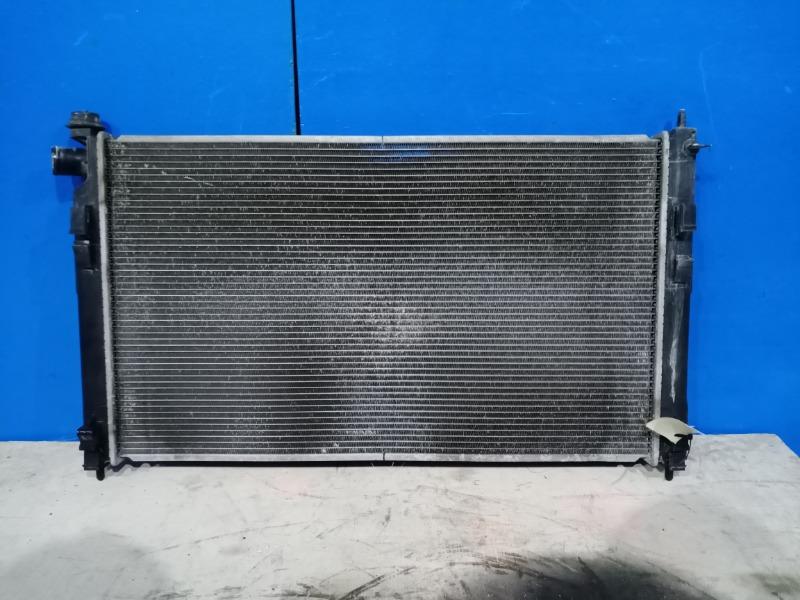 Радиатор охлаждения двигателя Mitsubishi Lancer 10 2007 передний (б/у)