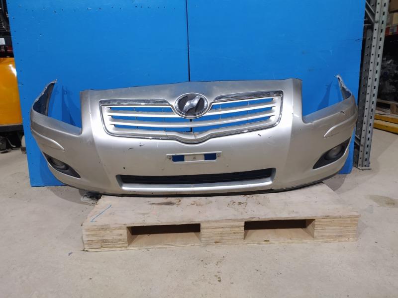 Бампер Toyota Avensis 2006 передний (б/у)